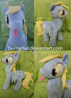 Mlp FiM: Derpy Hooves Plush v3 by Tawny0wl