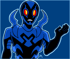 Blue Beetle by Rickz0r