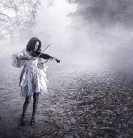 The violin player by DarkArtists-Inc