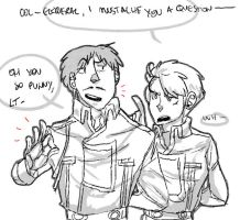 i mustache you a question by Cabout