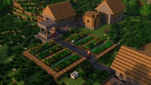 Minecraft: Village by SupahPOW31