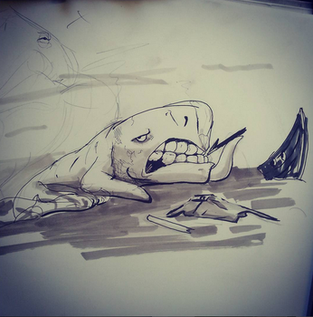 Inktober2015#6 by 24movements