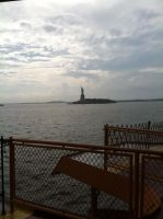 Statue of Liberty: By Ferry by bobisawsome1000