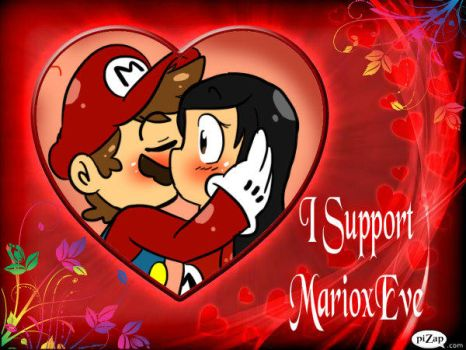I Support MarioxEve by Number1MarioFan247