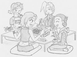 Japanese Table Manners by cekario