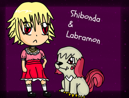 Art-Trade / Shibonda and Labramon by Phewmonster