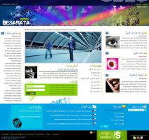 New Layout :: Besara7a Mag :: by mitch2004