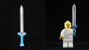 LEGO 3D Printed Painted Goddess Sword by mingles