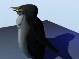 penguin_model-- skinned by llothcat