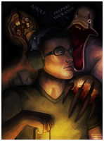 Markiplier Fanart - Amnesia by Essence-Of-Rapture