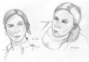Double Crow Studies by NezumiWorks