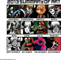 2013 Art Summary by angieness