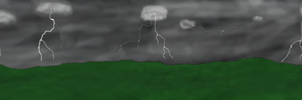 Stormy Night background by Diretooth