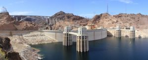 Upper Hover Dam Panorama by wolf688