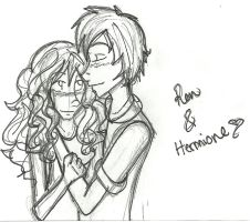 Ron and Hermione by Disney-Sarah