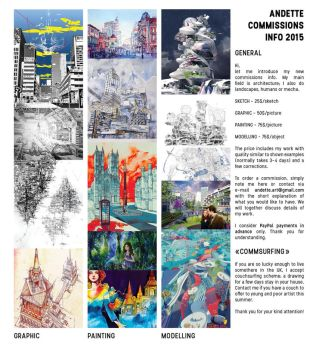 COMMISSION INFO - 2015 by Andette