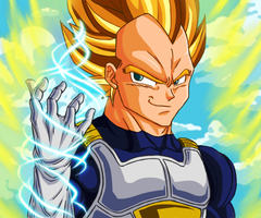 Vegeta - Strings by CrimsonCypher