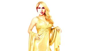 Claire Holt - Rebekah - dress by queenoaty96