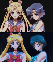Sailor Moon Crystal Screenshot Re-draw by cherrycheezy