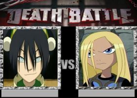 Death Battle Suggestion: Toph V.S. Terra by NewBlood7