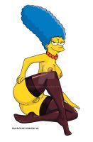 Marge Simpson ganosa by Shayeragal