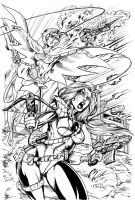 Operation: Scarlet Swan inks by Inker-guy