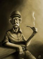 Old man by AlfonsoRosso