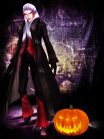 Xemnas Vampire - Halloween Special [XPS] by LexaKiness