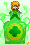 Happy Saint Patrick Day! (Has Speedpaint!) by TheDrawingMorgs
