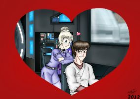 K2-V-Day 2012-Love in the Cockpit by MaskedSugarGirl