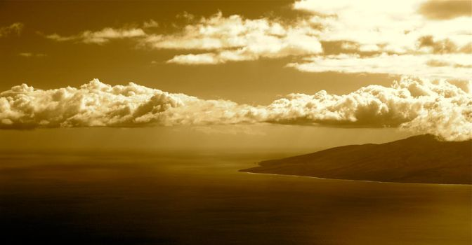 Hawaii in sepia by Trkn172