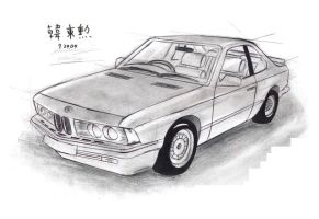 1987 BMW 635CSL Turbo Coupe by toyonda