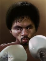 Manny 'Pacman' Pacquiao by creaturedesign