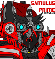 Samulus Prime 2 masked by samcollends