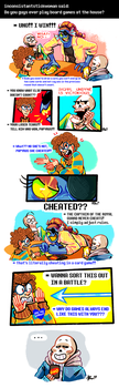 Undertale ask blog: game by JimPAVLICA