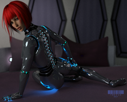 Gynoid 1111 by TweezeTyne