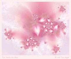 Pink Hearts For Anna by aartika-fractal-art