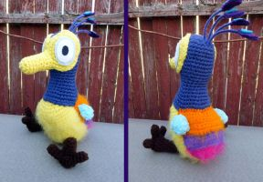 Baby Kevin the bird from UP by MilesofCrochet