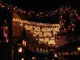 New Orleans Square Christmas by KayJay777
