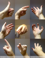 Hand References 1 by RinFaye