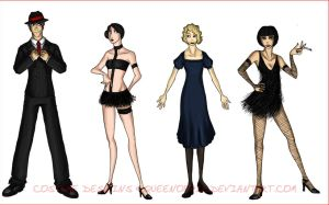 Costume Design: CHICAGO by RosieHasASoul