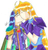 Another Gourry Sylphiel Kiss by GourrySylphiel
