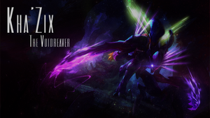League of Legends Wallpaper - Kha'Zix by DarkiGFX