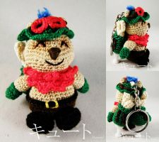 Teemo keychain by pink-butterfly-crack