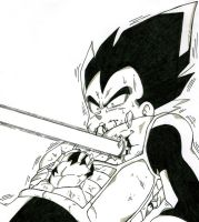 Beam What Killed Vegeta by RaditzLover