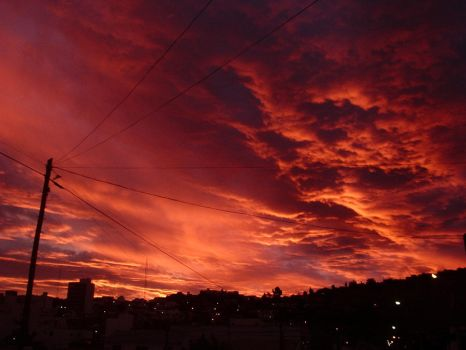 The Return Of The Red Sky by DingoPatagonico
