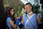 Avatar (Sokka and Katara): Water Tribe by DidsRainfall