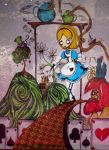 Alice in Wonderland by KennedyxxJames