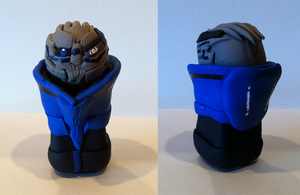 ME2 Clay Garrus by bboria