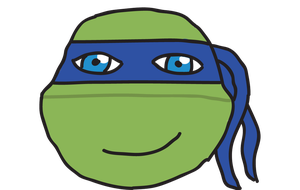 TMNT 2012 - Leo Sketch (Colored) by SilverMoonCrystal